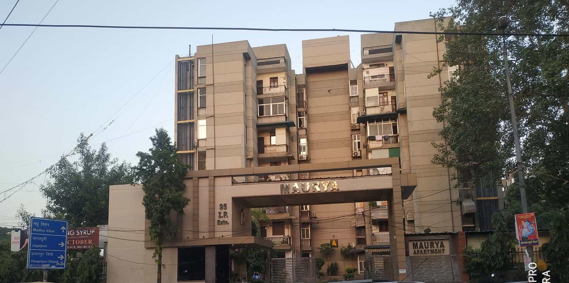 3bhk Maurya Apartments Patparganj